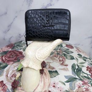 Badgley Mischka | Croco Embossed Small Wallet
